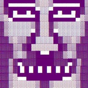 @tw1tt3rart purple face avatar