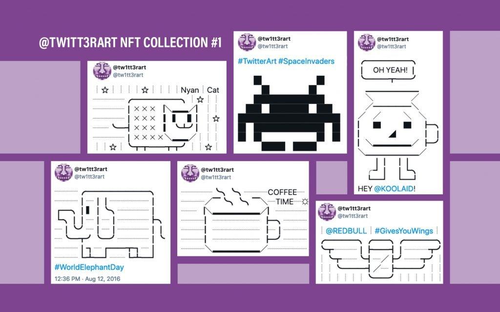 tw1tt3rart NFT collection number 1
